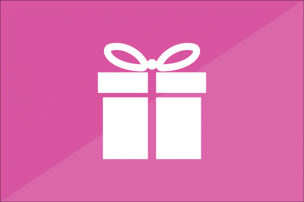 Icon for Free Gift Coupons plugin showing a present